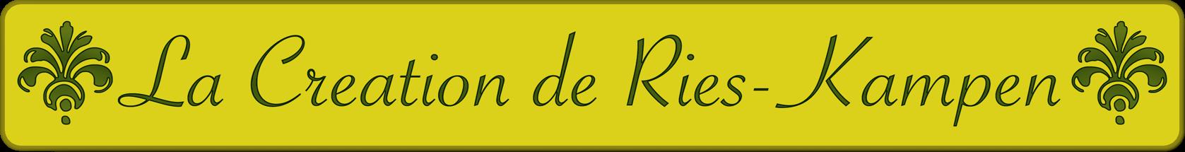 La Creation de Ries-Kampen